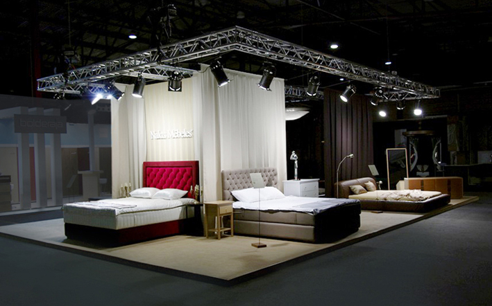 Exhibition Stand Design Furniture : Spaces elina busmane